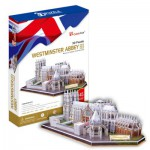 Cubic-Fun-MC121H Puzzle 3D - Royaume Uni : Abbaye de Westminster (Difficulté : 6/8)