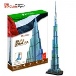 Cubic-Fun-MC133H Puzzle 3D - Dubaï : Burj Khalifa (Difficulté : 8/8)