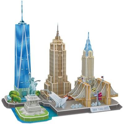 Cubic-Fun-MC255h Puzzle 3D - New York - Difficulté : 4/8