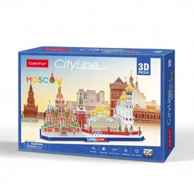 Cubic-Fun-MC266H Puzzle 3D - Cityline - Moscou