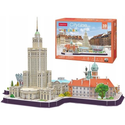 Cubic-Fun-MC271H Puzzle 3D - Cityline Varsovie