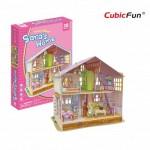 Cubic-Fun-P678h Puzzle 3D - La Maison de Sara (Difficulté : 4/6)