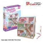 Cubic-Fun-P684h Puzzle 3D - Pianist's Home (Difficulté: 4/6)