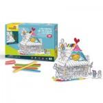Cubic-Fun-P693h Puzzle 3D - Maison de Jouets