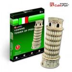 Cubic-Fun-S3008H Puzzle 3D Série Mini - Italie : Tour de Pise (Difficulté 2/8)