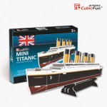 Cubic-Fun-S3017H Puzzle 3D Série Mini - Titanic (Difficulté 2/8)