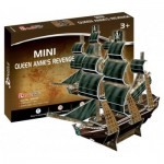 Cubic-Fun-S3031h Puzzle 3D Mini - The Queen Anne's Revenge - Difficulté : 2/8