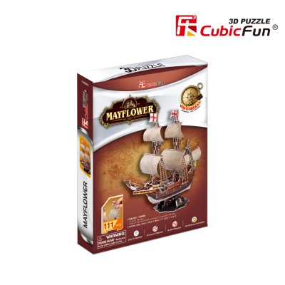Cubic-Fun-T4009H Puzzle 3D - May Flower (Difficulté 4/8)