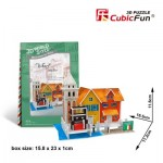 Cubic-Fun-W3114H Puzzle 3D World Style - Welcome to Italy