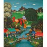 HCM-Kinzel-69141 Puzzle en Bois - Bonjour