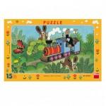 Dino-00103 Puzzle Cadre - La Petite Taupe
