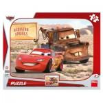 Dino-30307 Puzzle Cadre - Cars 3