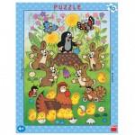 Dino-32202 Puzzle Cadre - La Petite Taupe
