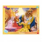 Dino-32215 Puzzle Cadre - Disney Princess