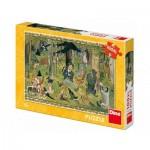 Dino-34348 Pièces XXL - Josef Lada - Fairy Tales