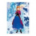 Dino-422155 Diamond Puzzle - La Reine des Neiges