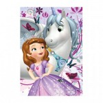Dino-422162 Diamond Puzzle - Sofia the First