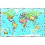 Dino-53248 Carte du Monde (en anglais)