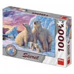 Dino-53278 Secret Puzzle - Ours Polares