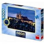 Dino-54116 Puzzle Néon - Prague