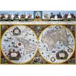 Dino-55123 Vieille Carte du Monde