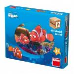 Dino-64119 Puzzle Cubes en Bois - Nemo