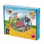 Dino-64205 Puzzle Cubes en Bois - La Petite Taupe