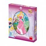 Dino-64207 Puzzle Cubes en Bois - Disney Princess