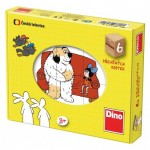 Dino-64311 Puzzle Cubes - Contes