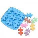 Cook-003 Moule en Silicone pour Glaçons ou Gateaux - Puzzle