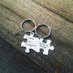 Key-003 2 Porte-Clés Puzzle - You're my Person