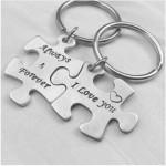 Key-004 2 Porte-clés - Always & Forever / I Love You