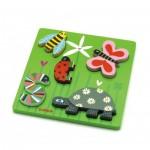 Djeco-01025 Puzzle en Bois - Kimi