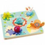 Djeco-01031 Puzzle en Bois - Lilo