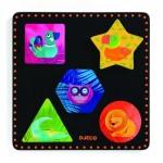 Djeco-01050 Puzzle en Bois - Geochic