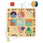 Djeco-01802 Puzzle en Bois - Ludigraphic