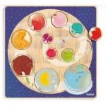 Djeco-01806 Puzzle en Bois - Ludi & Co