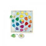 Djeco-01807 Puzzle en Bois - Ludicolori