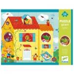 Djeco-07010 Optic Puzzle