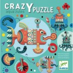 Djeco-07125 Crazy Puzzle - Aqua'zules
