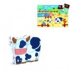 Djeco-07205 Silhouette - Vaches à la Ferme