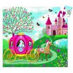 Djeco-07254 Puzzle observation : Le carosse d'Elise