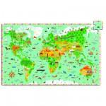 Djeco-07412 Puzzle observation : Les monuments du monde