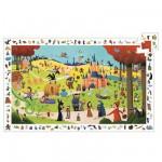 Djeco-07561 Poster et jeu d'observation : Les contes