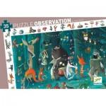 Djeco-07588 Puzzle Observation - L'Orchestre