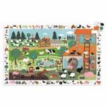 Djeco-07591 Puzzle observation : La ferme