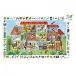 Djeco-07594 Puzzle Observation - La Maison