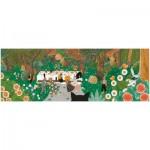 Djeco-07606 Puzzles Gallery - Liberty
