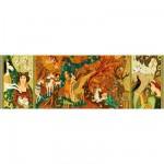 Djeco-07624 Gallery : Dames à la licorne
