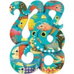 Djeco-07651 Puzz'Art - Octopus